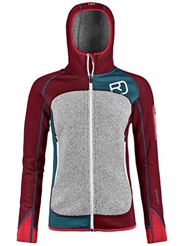 Damen Fleecejacke Ortovox Plus Hooded Fleece Jacket