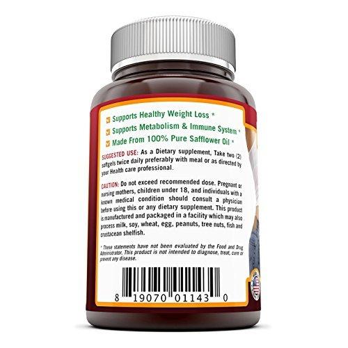 Nutri Essentials conjugan ácido linoleico (CLA) 1000 mg 120 cápsulas