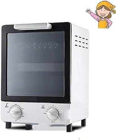 Mini horno vertical eléctrico horno microondas de alta calidad mini eléctrico Tostadora de las familias Máquina para el pan multifunción Baker blanco: Amazon.es: Hogar