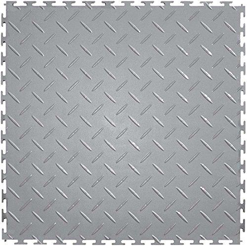 Flooring Plate Diamond Vinyl (IT Tile ITDP450LG45 Diamond Plate)