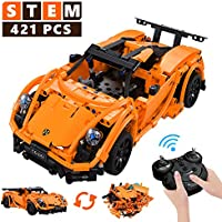STEM Building Toys for Kids, Stem Building Kit Remote Control Rc Car Educational Engineering Toys for Boys, 421 PCS...