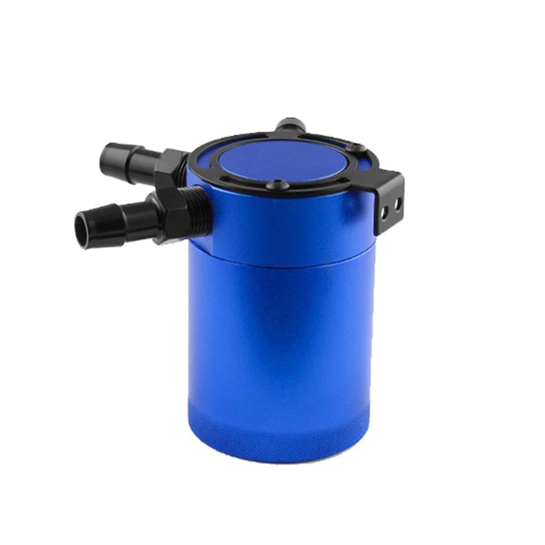 blu MXECO Universal 3 Port Oil Catch Can Tank Compatto deflettore separatore aria-olio Pcv//Ccv Trend del mercato di vendita caldo