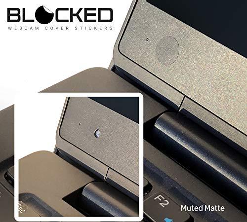 Blocked Webcam//Camera Vinyl Covers57 Low-Tack Reusable Webcam Sticker3-Siz