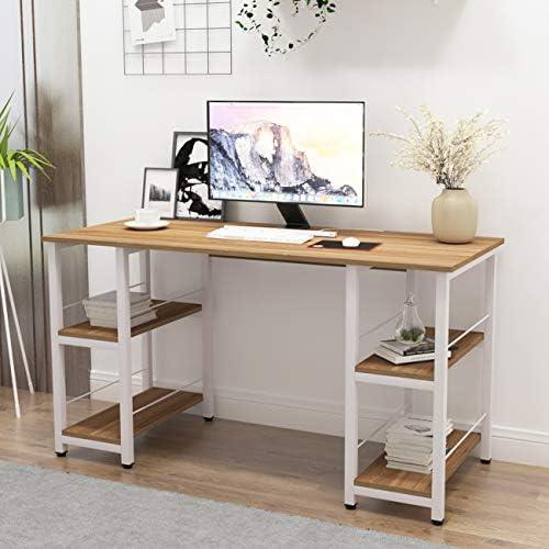 SogesPower Office Desk 55 inch Home Office Desk