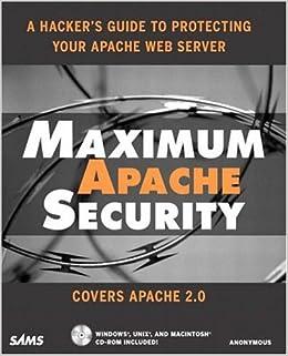 Maximum Apache Security