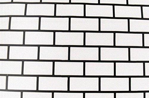 Large 3 ft x 5 ft Runningbond Brick Plastic Concrete Driveway - Stencil Brick Wall
