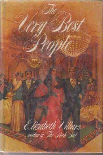 The Very Best People by Villars, Elizabeth published by Coward, McCann & Geoghegan Hardcover