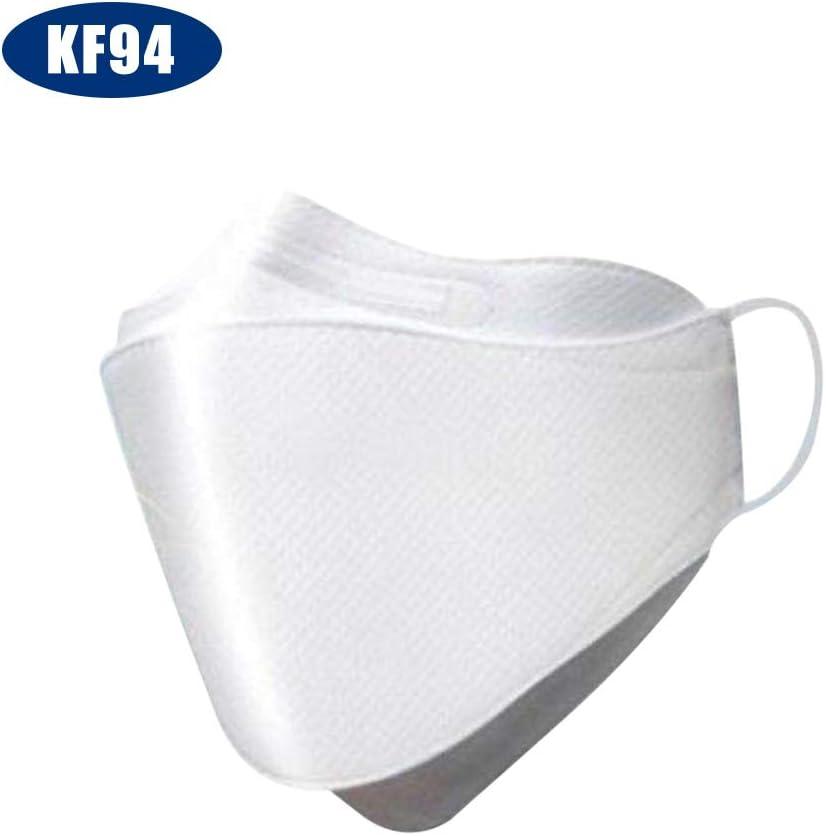 Fesjoy KF94 Mascarilla Triple Filtro Mascarilla 94% Filtración Mascarilla Protectora de 3 Capas Mascarilla Suave y Transpirable Mascarilla Facial Protección -20 Piezas