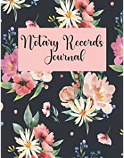 Notary Records Journal: Official Notary Journal| Public Notary Records Book| Notarial acts records Log| Notary Template|100 numbered pages, Paperback