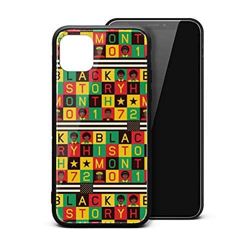 Black History Month Vector Color I-Phone11 Case Ultra Slim Case Shockproof Thinnest for I-Phone11