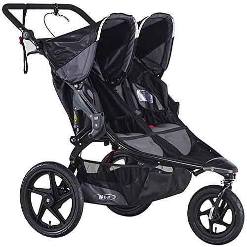 BOB Revolution Pro Duallie Stroller, Black (Prior Model) by BOB