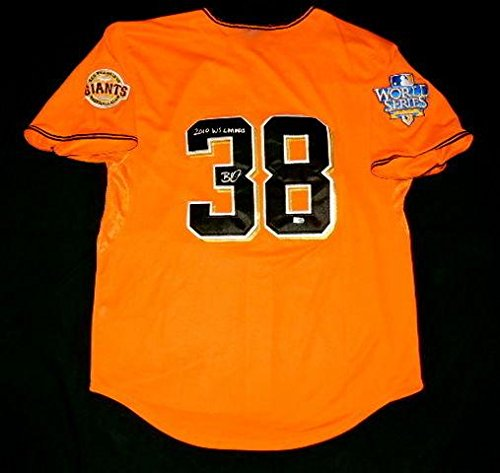 Brian Wilson Autographed Jersey (san Francisco Giants) W/Proof! - Mlb Hologram! - Autographed MLB Jerseys