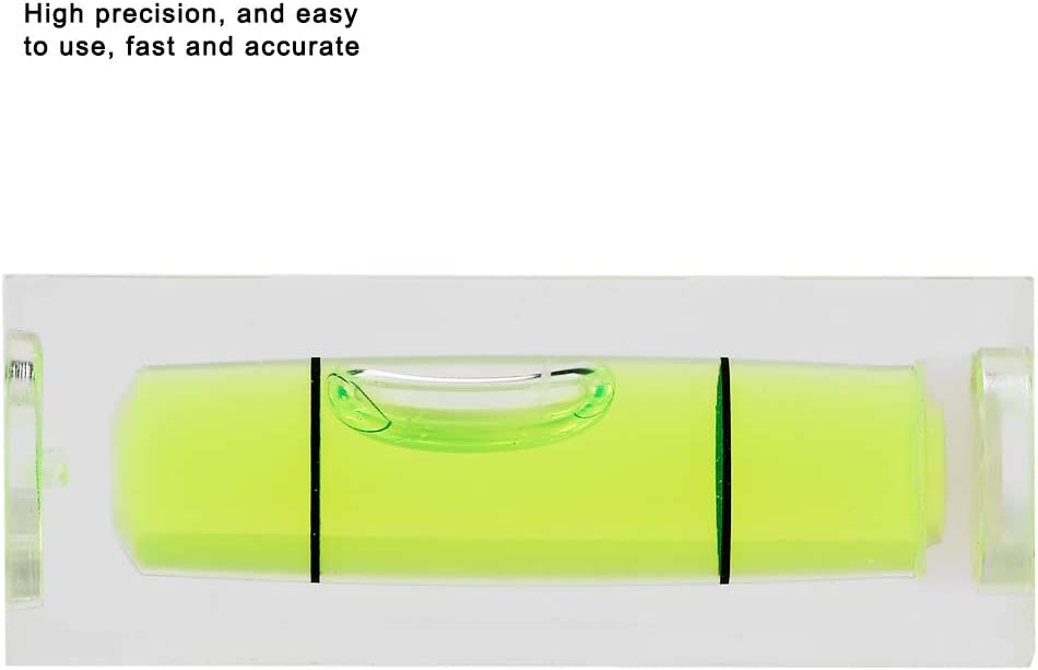 15 ROSEBEAR Square Spirit Level 5 Pack 15 40MM Bubble Small Level Hanging Measuring Tools