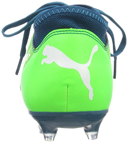 green Football puma Bleu 18 Gecko ag Fg 4 Future Chaussures De White deep Enfant Mixte Lagoon Puma Jr x8q6pPanxw