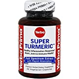 Yerba Super Turmeric Vegetarian Capsules, 60 Count For Sale