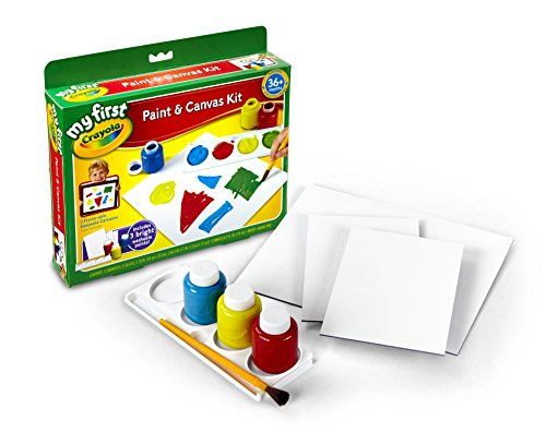 - Crayola 81-1362 My First Mess Free Paint Canvas Baby Toy