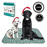 rocket & rex Washable Dog Pee Pads. Dog Training Pads, Waterproof, Reusable Dog Pee Pads. Leak-Proof and Absorbent Puppy Pee Pads....