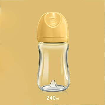 MC-BLL-Baby bottle Botella de Vidrio Resistente a la caída biberón ...