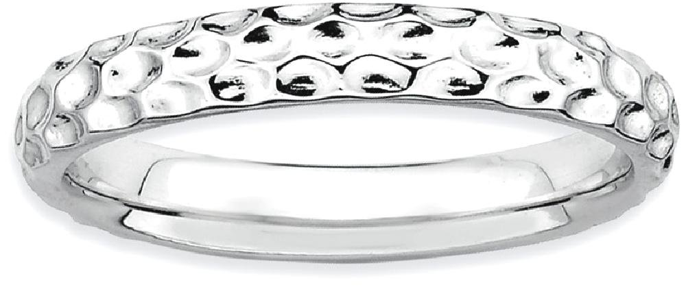 ICE CARATS 925 Sterling Silver Band Ring Size 7.00 Stackable Fancy/Fine Jewelry Ideal Gifts For Women Gift Set From Heart by ICE CARATS (Image #2)