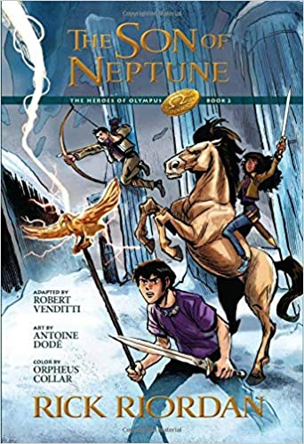 The Heroes Of Olympus Book Two The Son Of Neptune The Graphic