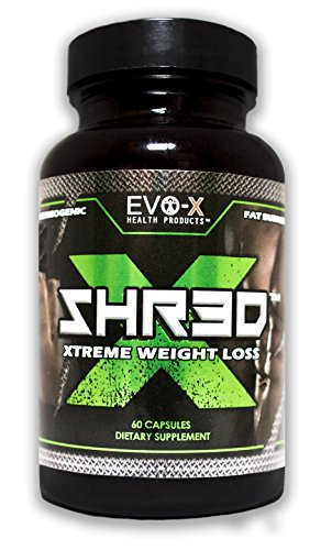 EVO-X Health Products SHR3D-X Supplement, 60 Count