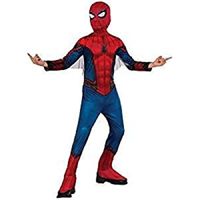 Rubie's Boys Deluxe Spider-man Muscle Costume with Metallic Accents (Medium 8/10): Clothing