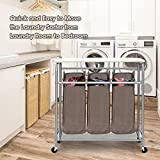 Storage Maniac 3 Lift-Off Bags Laundry Sorter
