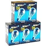 5 x Glühbirne 150W klar E27 Glühlampe 150 Watt Glühbirnen Glühlampen