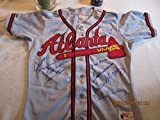 500 home run Signed Atlanta Braves Jersey Ted Williams, Hank Aaron 10 sigs