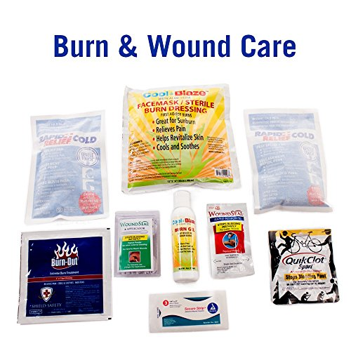 Deluxe Ems-Style Kit By Nutristore | First Aid Ems Kit Including First Responder Medical Supplies In A Large Emergency Trauma Medic Bag by Nutristore (Image #4)