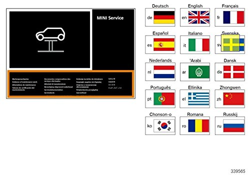 BMW MINI Service Maintenance Record Log Book 01492601595: Amazon.es: Coche y moto