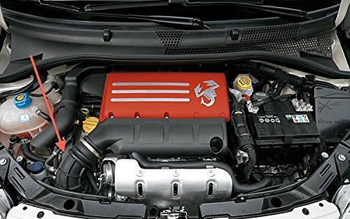 Autobahn88 Kit de manguera de silicona de admisión de aire, Modelo ASHK225-RD-WC (Rojo - con sistema de abrazadera): Amazon.es: Coche y moto