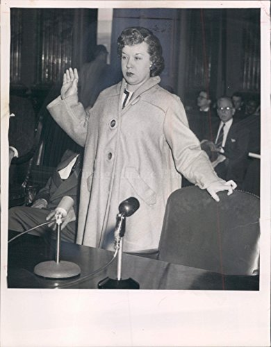 1955 Photo Jerry Tipton Cleveland OH Woman Speaker Inside Business