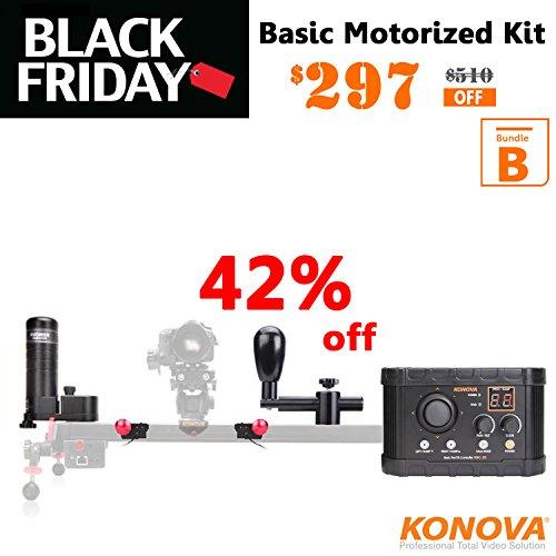 Konova Basic Pan Tilt Motion Controller Bundle B for K2 60cm by KONOVA