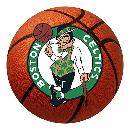 FANMATS NBA Boston Celtics Nylon Face Basketball ()