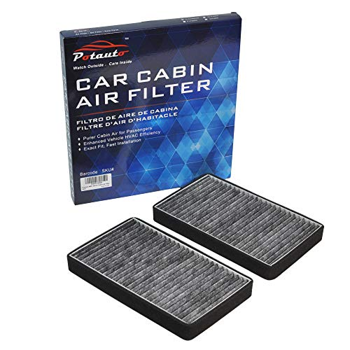 POTAUTO MAP 2001C (CF8791A) Replacement Activated Carbon Car Cabin Air Filter for Cadillac Escalade, Chevrolet, Avalanche, C3500HD, Silverado, Suburban, Tahoe, GMC,C3500HD, Sierra, ()