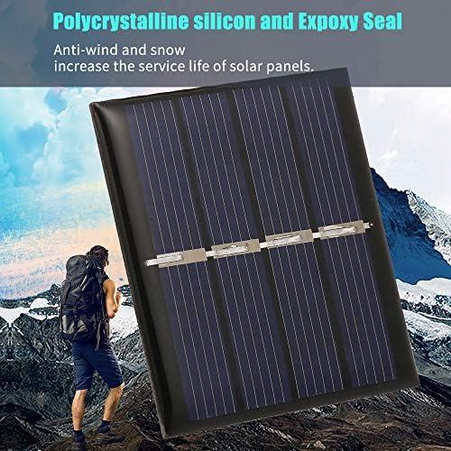 Tidyard 0.36W / 2V DIY Mini-Solarpanel-Modul mit Linien Solarzelle 188 * 78.5MM Haustier polykristallines Silizium für Solarlichter zeigt Spielwaren an