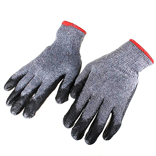 ZevenMart Tool LG-GA4 Non-skid Latex Gloves Labor Safety Working Gloves Gardening - Jobs Uk Tiffany
