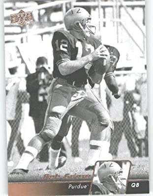 2011 Upper Deck Football Trading Card #9 Bob Griese - Purdue Boilermakers - Miami Dolphins - NFL Legend