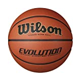 Wilson Evolution Indoor Game Basketball Official, 29.5-Inch, Orange by Wilson