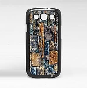 Beautiful Turquoise, Tan, and Creme Rock Wall Hard Snap on Phone Case (Iphone 4/4S III)
