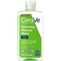 CeraVe Micellar Water | New & Improved Formula | Hydrating Facial Cleanser & Eye Makeup Remover | Fragrance Free & Non…