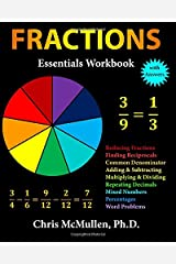 Fractions Essentials Workbook with Answers Paperback