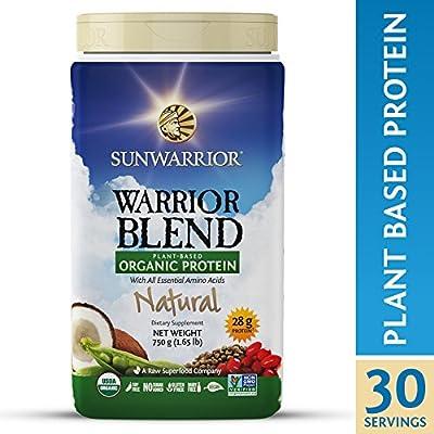 Sunwarrior - Warrior Blend, Raw, Plant Based, Organic Protein