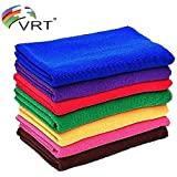 VRT Microfiber Cleaning Cloth   Cleaning Products   Cleaning Cloth   Cleaning Towels  Cleaning Microfiber   Cleaning Cloth   40X40 cm   300 GSM   Pack of 5