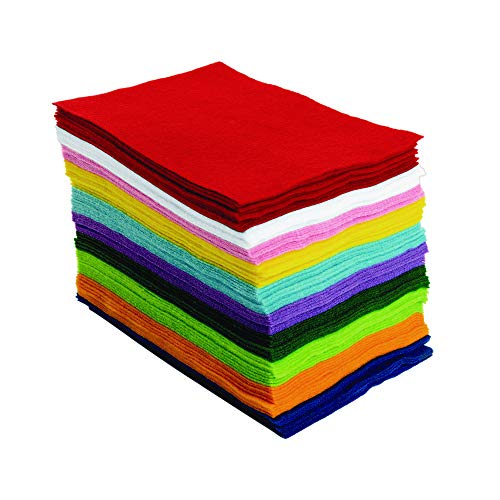 (Colorations 100% Polyester Felt Sheets 6