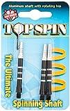 Dart World Top Spin Shaft, Black, Medium