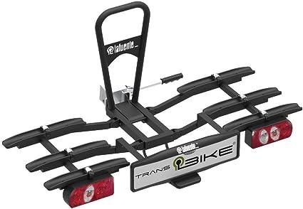 TransBike Portabicicleta sobre Bola de Enganche para 3 bicis ...