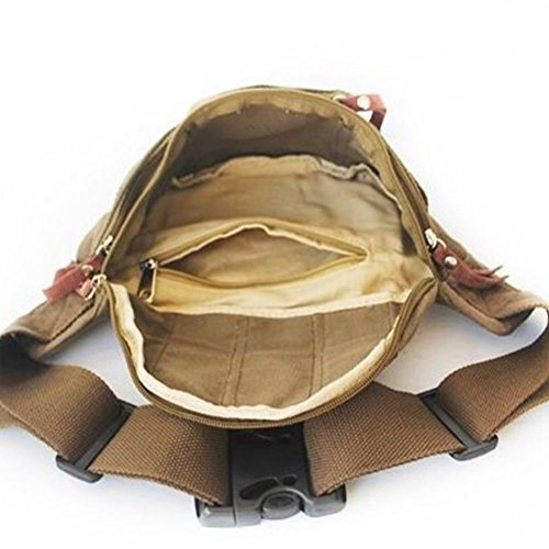 de De Mini A de ocio Paquetes lona los libre bolsillo hombres aire de hombres de Bolsas al A bolsillo estudiante qPnxrPwHI