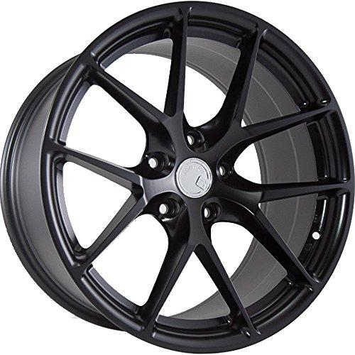 (Aodhan Wheels LS-07: 20X9, 5X114.3, 73.1, 15, (Matte Black))